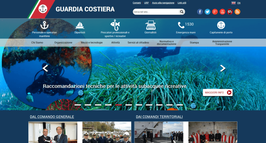 www.guardiacostiera.gov.it