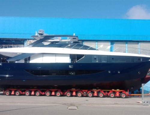 AMER YACHTS LAUNCH THE F100 #18