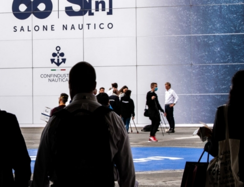 TODAY MARKED THE FIRST DAY OF THE 60TH GENOA INTERNATIONAL BOAT SHOW