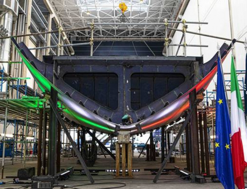 THE NEW BAGLIETTO 52M TLINE GETS ITS KEEL