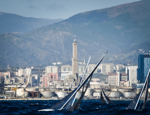 The RoundItaly regatta to set sail from the Genoa Boat Show to the Barcolana