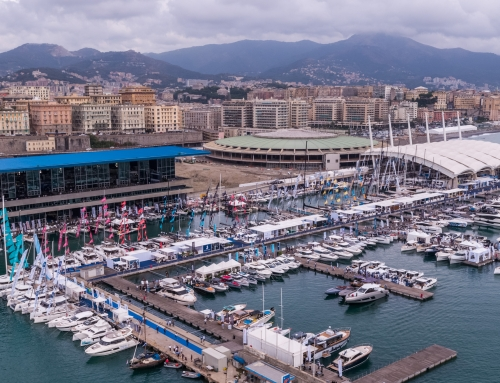 The events during the 61st Genoa International Boat Show's Opening Day
