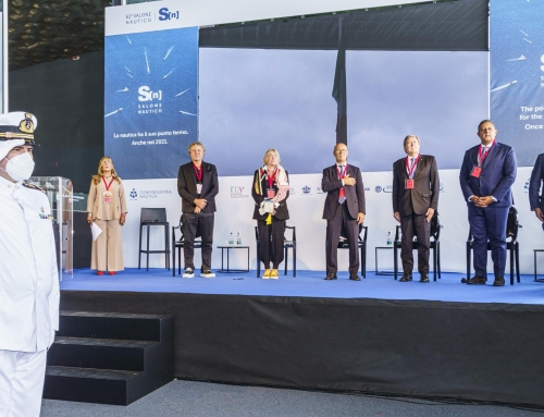 TODAY MARKED THE OPENING OF THE 61st GENOA INTERNATIONAL BOAT SHOW